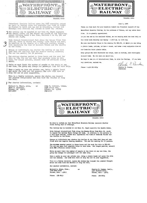 WER-related papers from 1977 and 1980