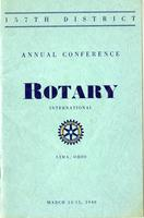 Rotary Conference Pamphlets