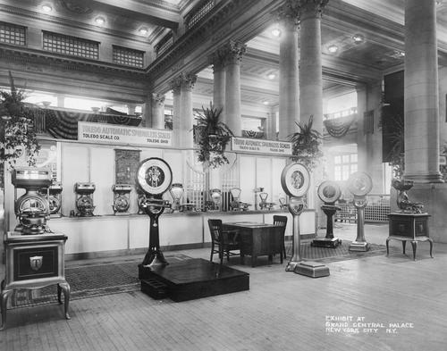 Exhibit at Grand Central Palace, New York City, N.Y..
