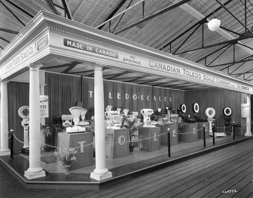 Toledo Exhibit: Canadian National Exhibition, Toronto, Ont. 1930.