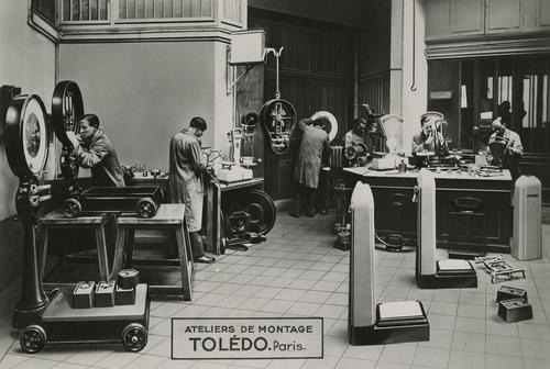 Toledo Scale operations in Paris, France.