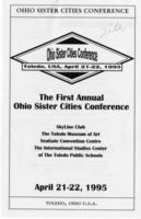 First Annual Ohio Sister Cities Conference
