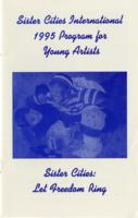 1995 Program for Young Artists - Let Freedom Ring
