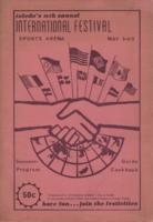 International Festival program cover