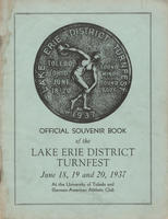 Lake Erie District 1937 Turnfest program