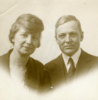 Photo of William M. Booker and wife