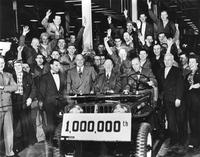 One-millionth Jeep