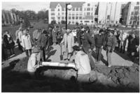 The Centennial Mall, Groundbreaking Ceremony