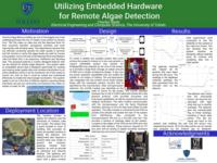 Utilizing Embedded Hardware for Remote Algae Detection