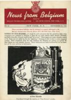 News from Belgium, no. 25, September 27, 1941