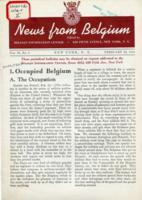 News from Belgium, vol. II, no. 9, February 28, 1942