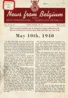 News from Belgium, vol. II, no. 19, May 9, 1942