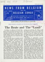News from Belgium and the Belgian Congo, vol. III, no. 9, February 27, 1943
