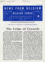 News from Belgium and the Belgian Congo, vol. III, no. 17, April 24, 1943