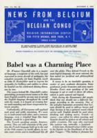 News from Belgium and the Belgian Congo, vol. III, no. 40, October 2, 1943