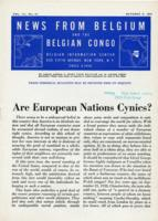 News from Belgium and the Belgian Congo, vol. III, no. 41, October 9, 1943