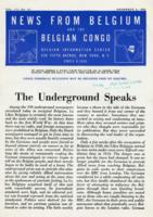 News from Belgium and the Belgian Congo, vol. III, no. 45, November 6, 1943