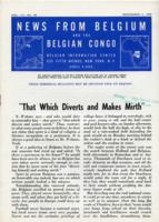 News from Belgium and the Belgian Congo, vol. III, no. 49, December 4, 1943
