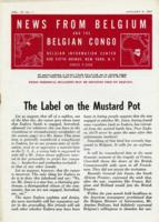 News from Belgium and the Belgian Congo, vol. IV, no. 1, January 8, 1944