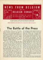 News from Belgium and the Belgian Congo, vol. IV, no. 8, February 26, 1944