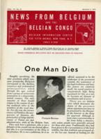 News from Belgium and the Belgian Congo, vol. IV, no. 9, March 4, 1944