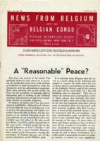 News from Belgium and the Belgian Congo, vol. IV, no. 23, June 10, 1944
