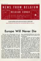 News from Belgium and the Belgian Congo, vol. IV, no. 27, July 8, 1944