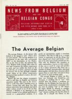 News from Belgium and the Belgian Congo, vol. IV, no. 29, July 22, 1944