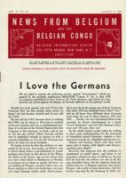 News from Belgium and the Belgian Congo, vol. IV, no. 32, August 12, 1944