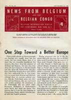 News from Belgium and the Belgian Congo, vol. IV, no. 38, September 23, 1944