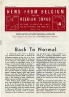 News from Belgium and the Belgian Congo, vol. IV, no. 39, October 7, 1944