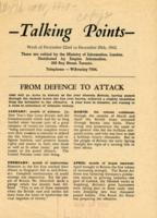 Talking Points, December 22-December 29, 1942