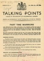 Talking Points, vol. 3, no. 14, January 12-January 19, 1943