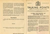 Talking Points, vol. 3, no. 15, January 19-January 26, 1943