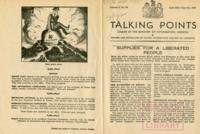 Talking Points, vol. 3, no. 29, April 28-May 5, 1943
