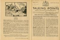 Talking Points, vol. 3, no. 43, August 4-August 11, 1943