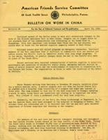 Bulletin on Work in China #2, April 15, 1942