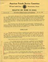 Bulletin on Work in China #3, May 14, 1942