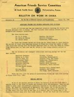 Bulletin on Work in China #4, August 20, 1942