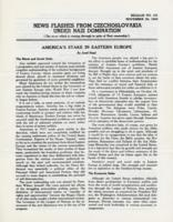 News Flashes from Czechoslovakia Under Nazi Domination, no. 161, November 30, 1942