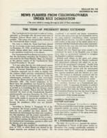 News Flashes from Czechoslovakia Under Nazi Domination, no. 165, December 28, 1942