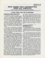 News Flashes from Czechoslovakia Under Nazi Domination, no. 168, January 18, 1943