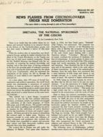 News Flashes from Czechoslovakia Under Nazi Domination, no. 227, March 6, 1944