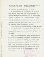 Czechoslovak Press Bureau, vol. 3, no. 11, February 9, 1943: The Archbishop of Canterbury About T.G. Masaryk