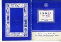 India at War: A Record and a Review, 1939-1940, by Sir George Dunbar