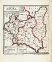 Administrative Map of Poland Under German Occupation, 1943