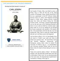 Carl Joseph (1915-1944) Bookplate