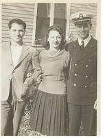 Carl Joseph, youngest sister Madeline and Albert Joseph
