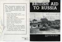 British Aid to Russia
