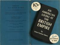 American Looks at the British Empire